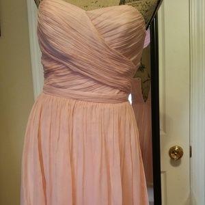 JCrew bridesmaids short dress